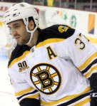 Patrice Bergeron will lead the team this season after a summer which saw him named the cover athlete for EA Sports' NHL 15. (Photo: Lisa Gansky, Wikipedia CC)