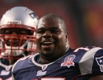 Although it wasn't the prettiest game New England has ever played, Vince Wilfork and the Patriots were happy to escape with a win against the Jets.  Photo: Keith Allison - Wikipedia CC